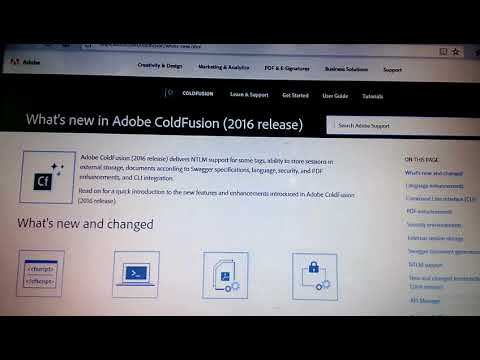 Adobe ColdFusion 2016 Release-New Features