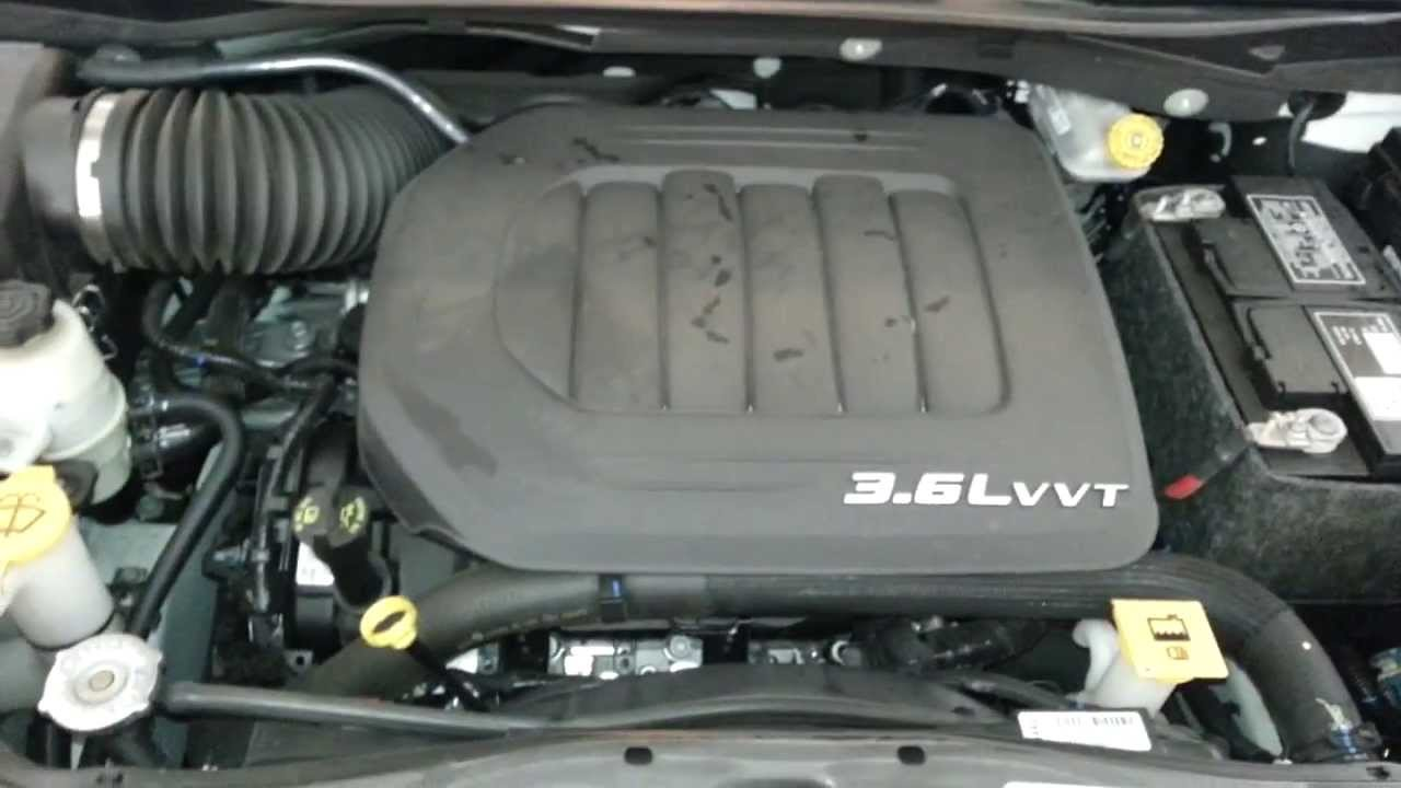 Chrysler 3 8 Serpentine Belt Diagram Vfd Control Wiring 2012 Town & Country - Pentastar 3.6l V6 Engine Idling After Oil Change Youtube