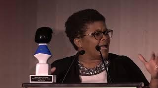 Attica Locke at the 2018 Edgar Awards