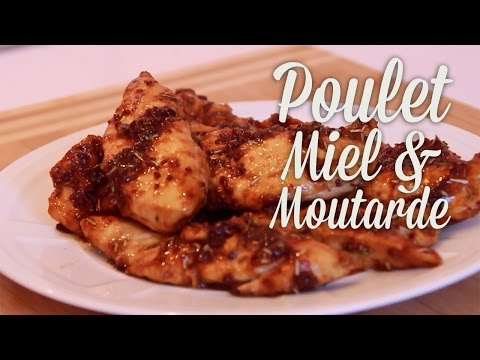 poulet-miel-moutarde---clara's-kitchenette---episode-60
