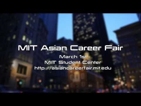 New: 2014 MIT Asian Career Fair (March 1st @MIT, Open to All)