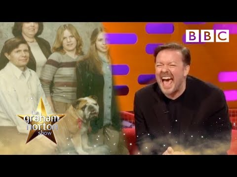Awkward Family Photos with Ricky Gervais | The Graham Norton Show - BBC