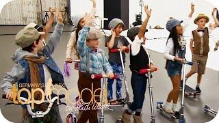 Nathalie und die Topmodels beim Kindershooting | Germany's next Topmodel 2014 | ProSieben