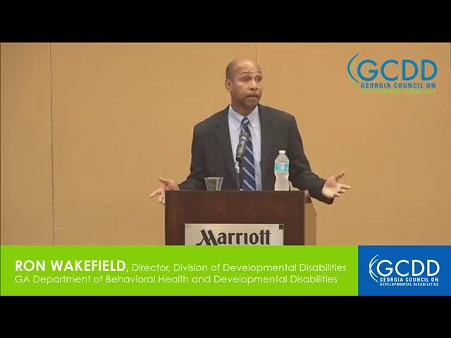 Ron Wakefield at GCDD Council Meeting, July 2017 (Part 1)