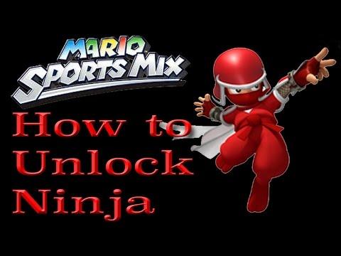 How to Unlock Ninja - Mario Sports Mix