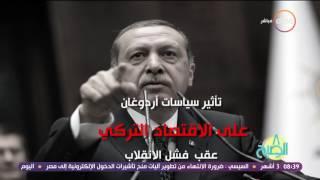 8 الصبح - بالأرقام والدلائل .. إنهيار الإقتصاد التركي أمام الدولار ... بسبب سياسة الدولة