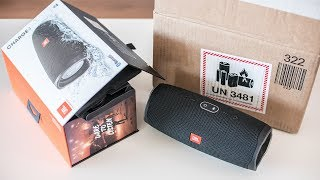 JBL Charge 4 - unboxing and sound test