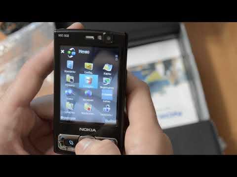 Распаковка Nokia N95 8Gb с AliExpress
