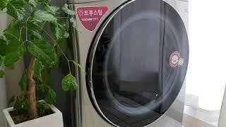 리온맘리뷰 / LG 트롬 건조기 스팀씽큐 설치기 / L…