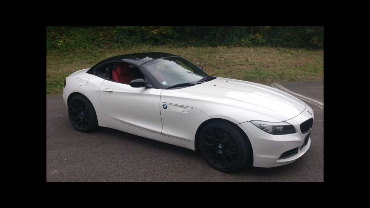 auto cover covering bmw z4 hard top youtube. Black Bedroom Furniture Sets. Home Design Ideas