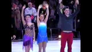 Olympic Champions show in Moscow 2014 Final  Virtue - Moir, Gordeeva  20-00