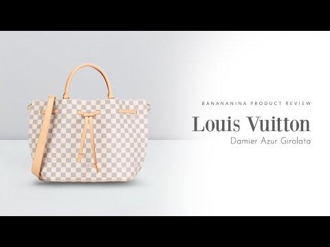 Banananina Product Review: Louis Vuitton Damier Azur Girolata