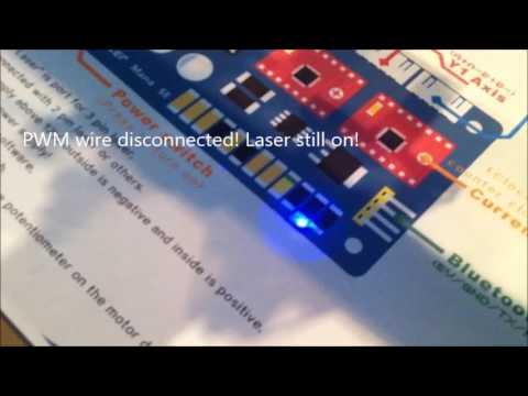 Bangood Elekslaser Etcher 2500mw Laser problems EleksCAM
