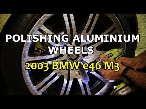 Polishing BMW M3 Aluminium Wheels