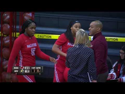 Game of the Week Girls and Boys Basketball MacArthur vs Irving 2 6 18