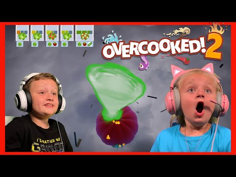 Overcooked! 2 - Cooking in a TORNADO! 🌪🌪🙀🤣 |