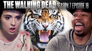 The Walking Dead: Season 7 Finale Fan Reaction Compilation!