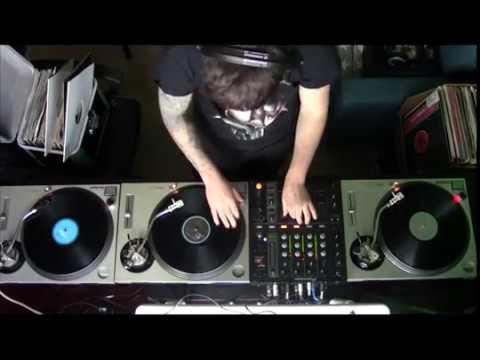Old School Techno -Djuro Gajic 100%Vinyl Records Mix
