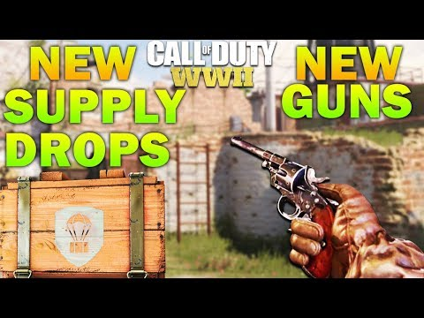 NEW DLC WEAPONS - 16 New Guns & Supply Drops *LEAKED* COD WW2