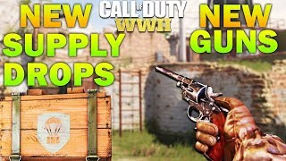 NEW DLC WEAPONS - 16 New Guns & Epic Supply Drops *LEAKED* COD WW2
