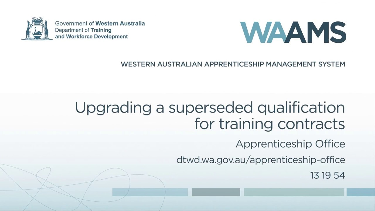 Apprenticeship Office | Department of Training and Workforce