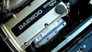 Daewoo Nexia 1 5 16V Engine Sound