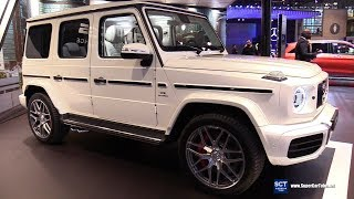 2019 Mercedes AMG G Class G 63 - Exterior and Interior Walkaround - 2018 New York Auto Show