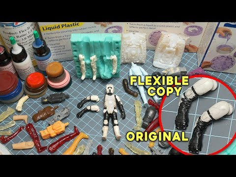 TOUGH Resins for DIY Action Figures? | How To Make Action Figure Toys