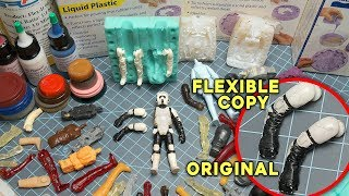 TOUGH Resins for DIY Action Figures?   How To Make Action Figure Toys