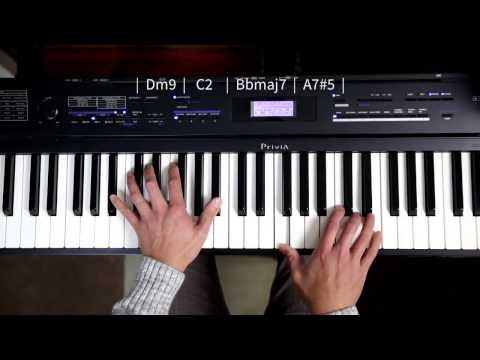 Loop 6 - Piano Chord Progression Dm C Bb A