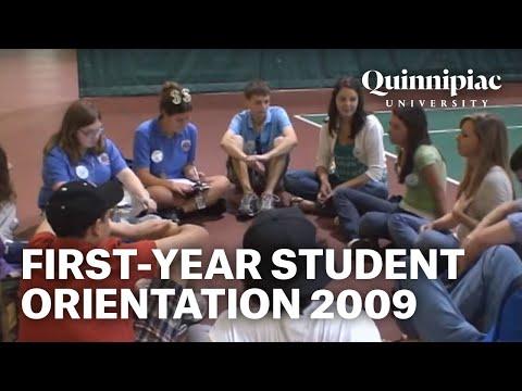 First- Year Student Orientation at Quinnipiac University