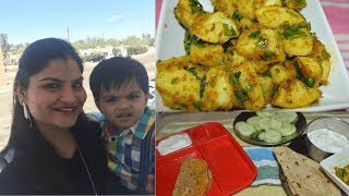 #Daily Vlog: How I Pack My Husband's Lunchbox | Indian (SAHM) Mommy Vlogger In USA | Real Homemaking
