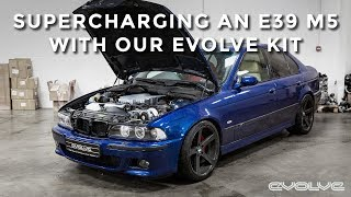 Supercharging an E39 M5 with our Evolve Supercharger Kit