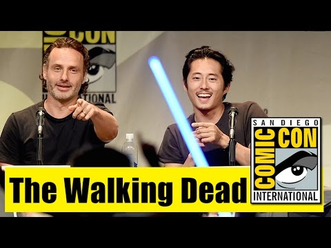 The Walking Dead | Comic Con 2015 Full Panel (Andrew Lincoln, Norman Reedus, Steven Yeun)