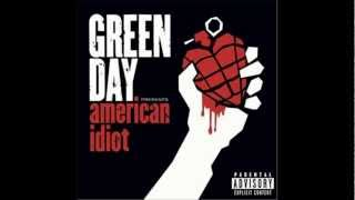 Green Day   American Idiot Audio
