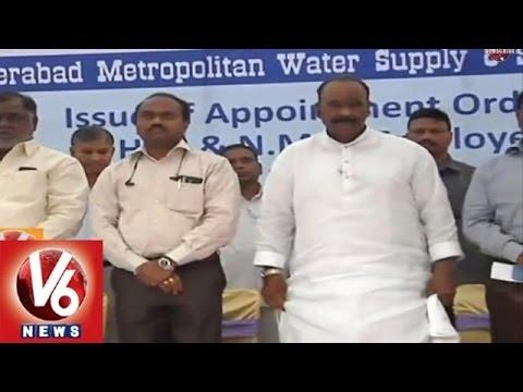 Hyderabad Metropolitan Water Board regularizes contract staff