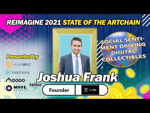 REIMAGINE 2020 - Joshua Frank - The TIE - The ultimate crypto trading strategy