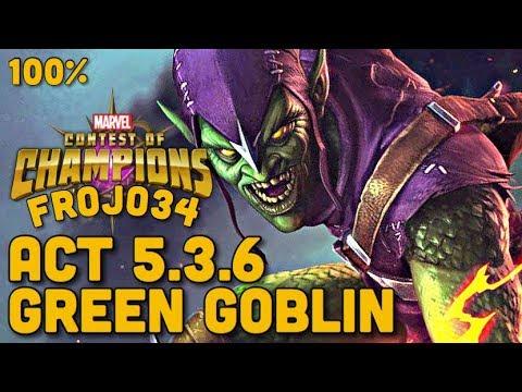 Act 5.3.6 | Green Goblin Boss | Marvel Contest of Champions