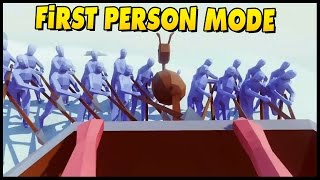 TABS First Person Mode Incoming! - Totally Accurate Battle Simulator First Person Mode