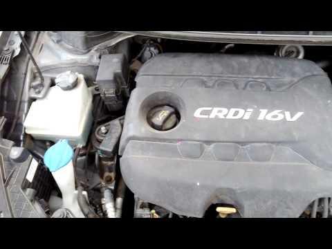 Hyundai I30 1.6 CRDI Engine Start & Sound
