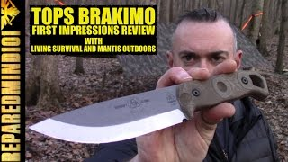 TOPS Brakimo: First Impressions w/ Living Survival and Mantis Outdoors   - Preparedmind101