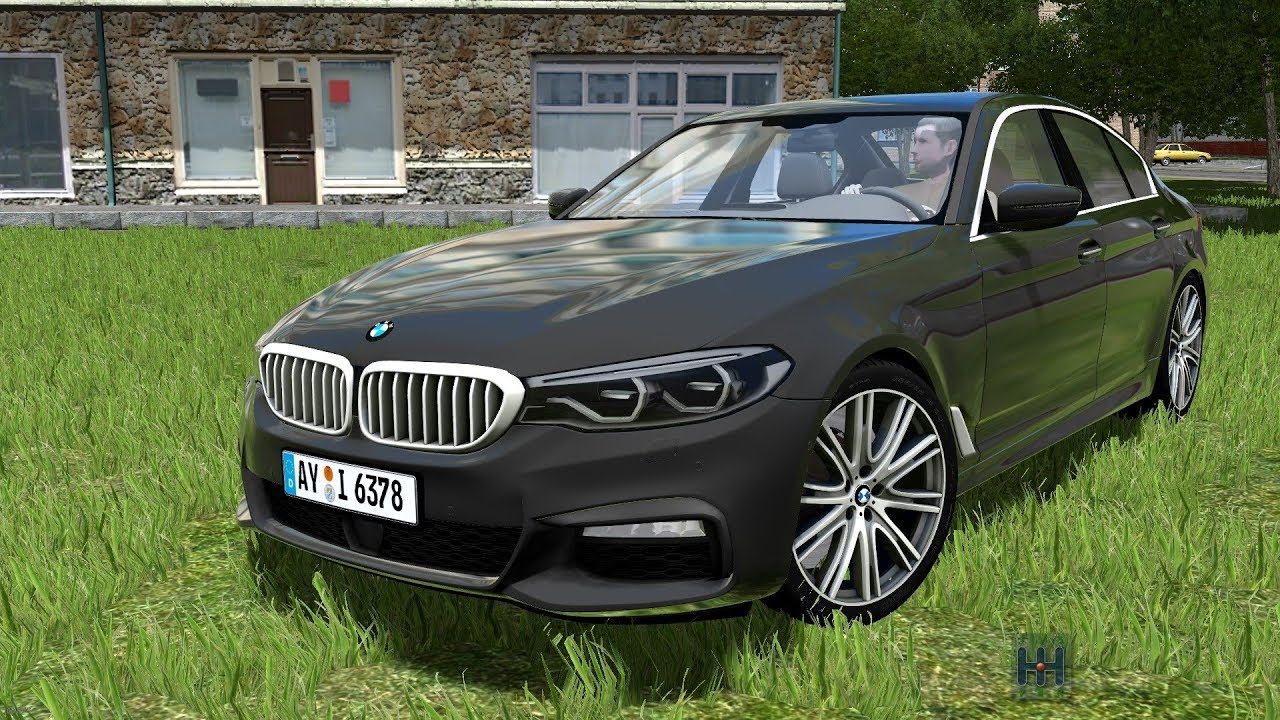 city car driving 1 5 4 bmw 540i g30 2018 custom sound. Black Bedroom Furniture Sets. Home Design Ideas