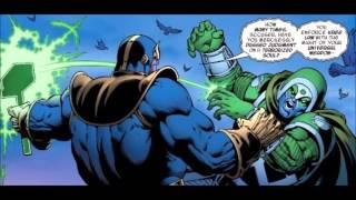 Thanos vs The Annihilators