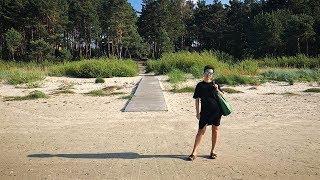 Балтика, жаркий июль 2018 года