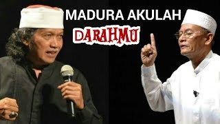 Merinding! Cak Nun feats D. Zawawi Imron (Madura Akulah Darahmu)