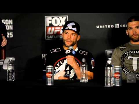"Josh Thomson gets Emotional, ""This Might be it,"" after UFC on Fox 10"