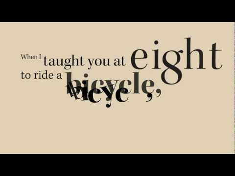 linda pastan s to a daughter leaving home To a daughter leaving home by linda pastan - when i taught you at eight to ride a bicycle, loping along beside you as you wobbled away on two round wheels, my.