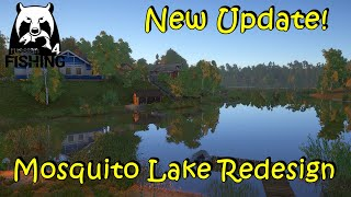 Russian Fishing 4 11 26 New Update and New Mosquito Lake Redesign