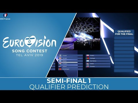Eurovision 2019 | Semi-Final 1 | Qualifier PREDICTION