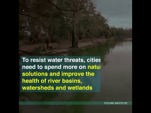 WWF recognizes 100 cities facing extreme water risk by 2050, including 30 in India.